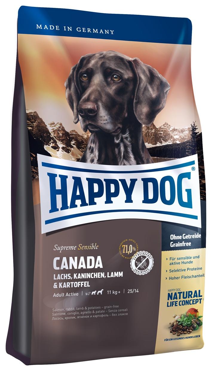 happy dog supreme sensible canada 12 5kg zoo co. Black Bedroom Furniture Sets. Home Design Ideas