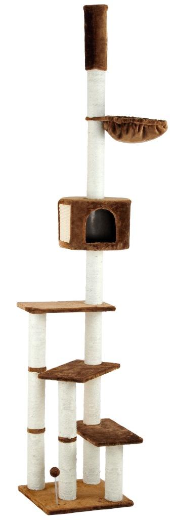 silvio design xxl kratzbaum kitty 240 260cm braun zoo co. Black Bedroom Furniture Sets. Home Design Ideas