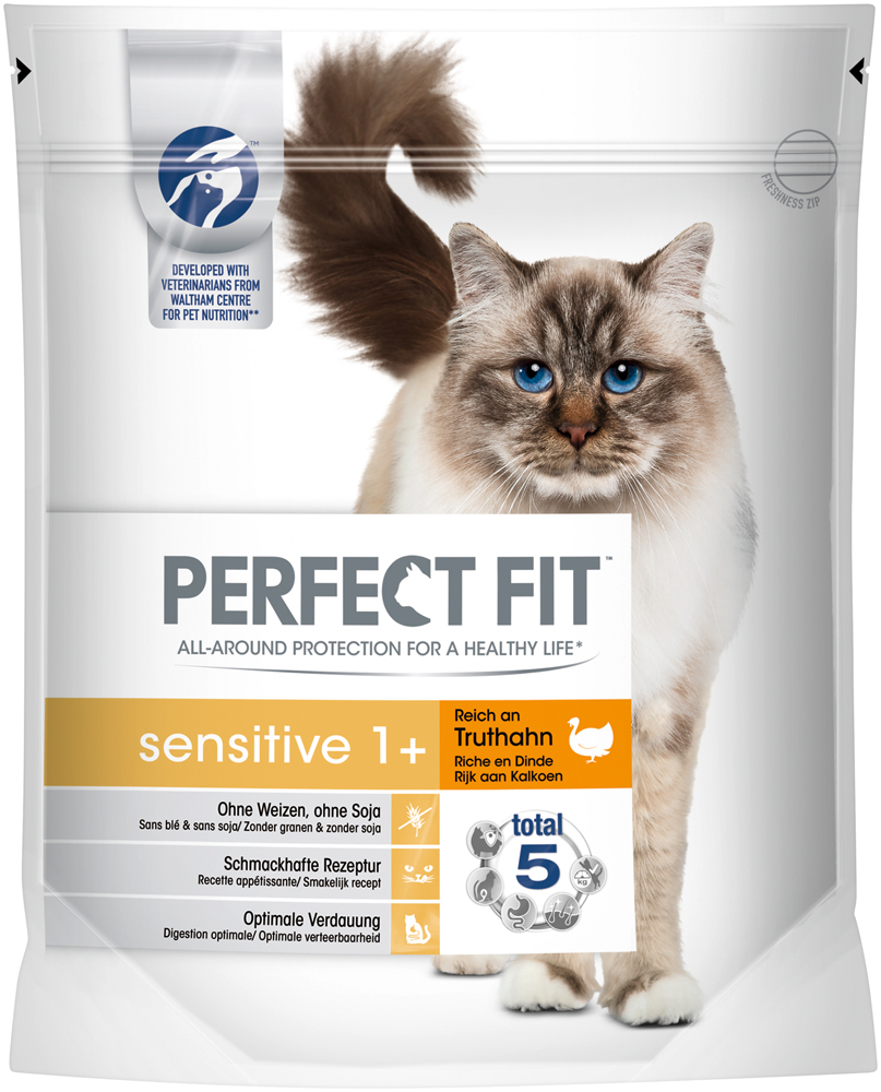 Perfect Fit 750g Sensitive 1+ Reich an Truthahn | ZOO & Co.