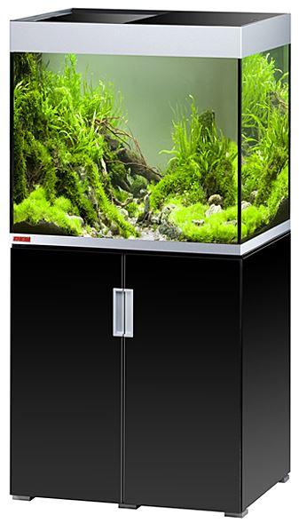 eheim aquarium schrank kombination incpiria 200 led in schwarz silber zoo co. Black Bedroom Furniture Sets. Home Design Ideas