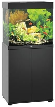 juwel lido 120 led aquarium schrankkombination in schwarz zoo co. Black Bedroom Furniture Sets. Home Design Ideas