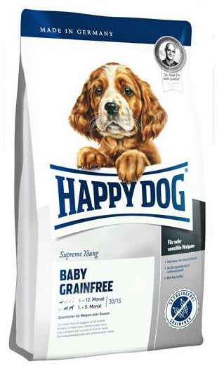 happy dog supreme baby grainfree 1kg zoo co. Black Bedroom Furniture Sets. Home Design Ideas