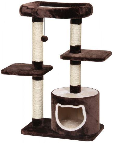 nobby kratzbaum pavas 102cm in braun beige zoo co. Black Bedroom Furniture Sets. Home Design Ideas