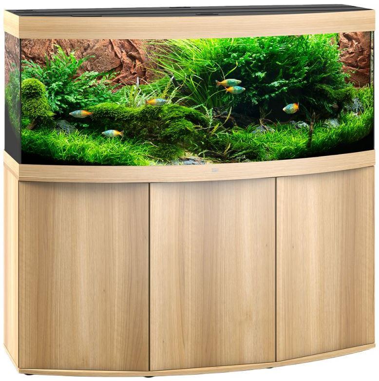 juwel vision 450 led aquarium schrankkombination helles holz zoo co. Black Bedroom Furniture Sets. Home Design Ideas