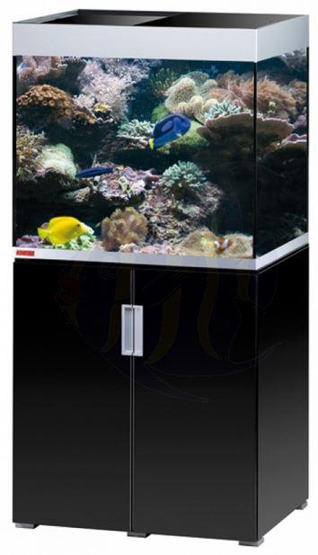 eheim aquarium schrank kombination incpiria marine 200 led in schwarz silber zoo co. Black Bedroom Furniture Sets. Home Design Ideas
