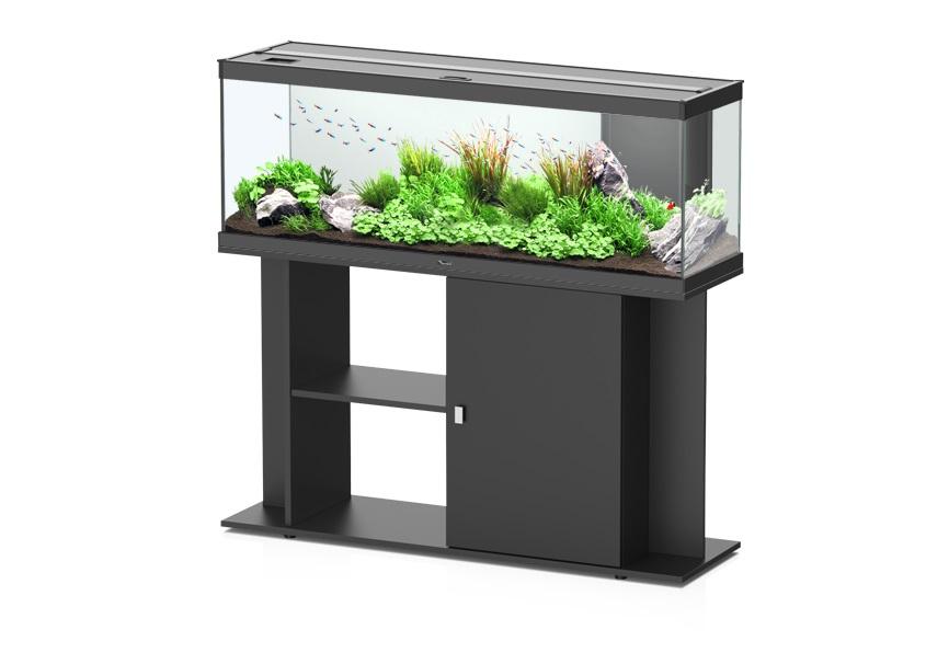 aquatlantis style led 120 aquarium schrankkombination schwarz zoo co. Black Bedroom Furniture Sets. Home Design Ideas