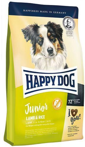 happy dog junior 10kg beutel mit lamm und reis zoo co. Black Bedroom Furniture Sets. Home Design Ideas