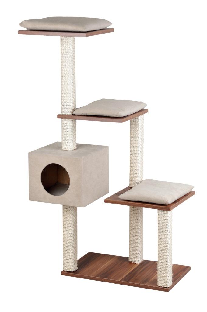 silvio design stufenboy cosy 126cm walnussdekor sand zoo co. Black Bedroom Furniture Sets. Home Design Ideas