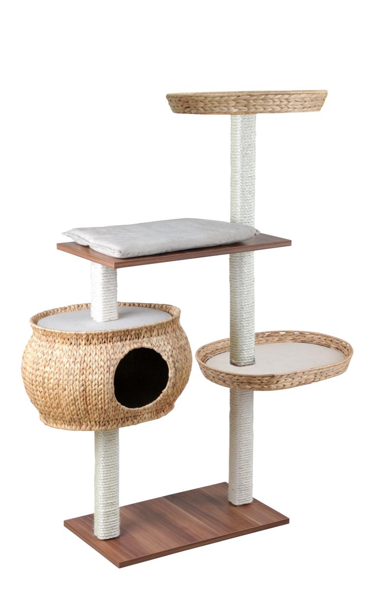 silvio design kletterbaum cosy walnussoptik creme. Black Bedroom Furniture Sets. Home Design Ideas