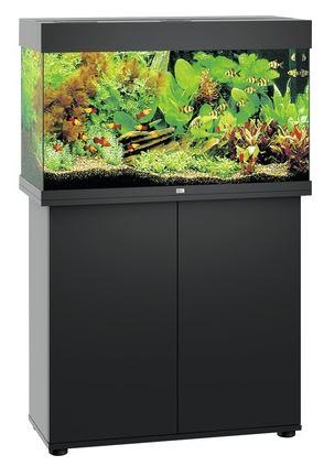 juwel rio 125 led aquarium schrankkombination in schwarz zoo co. Black Bedroom Furniture Sets. Home Design Ideas