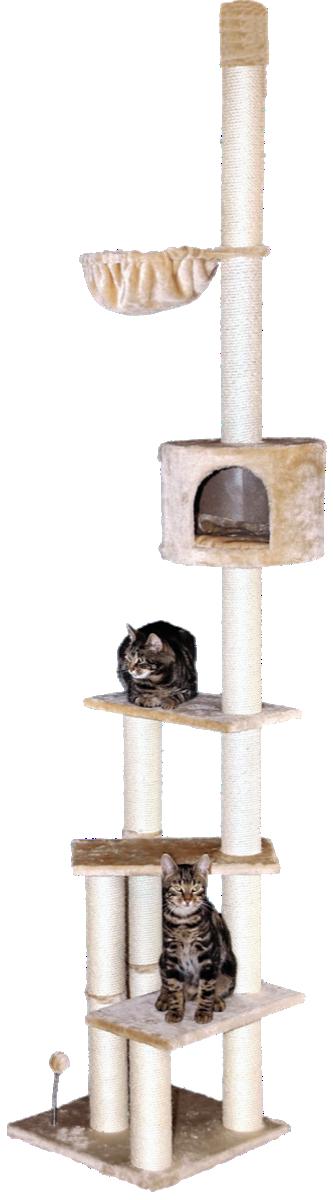 silvio design kratzbaum kitty 240 260cm beige zoo co. Black Bedroom Furniture Sets. Home Design Ideas