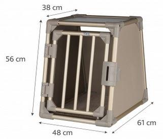 trixie transportbox f r hunde gr e s 48x57x64cm zoo co. Black Bedroom Furniture Sets. Home Design Ideas