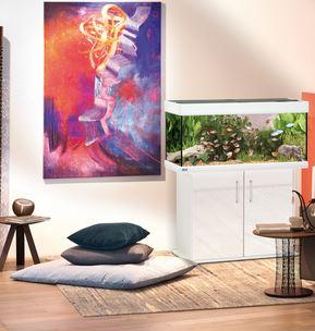 eheim vivaline 180 aquariumkombination in wei zoo co. Black Bedroom Furniture Sets. Home Design Ideas
