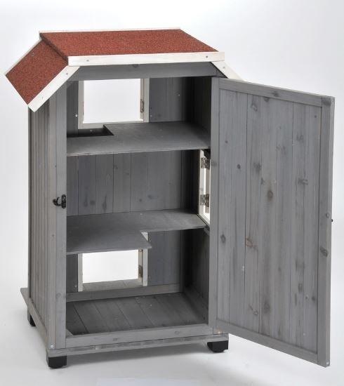 silvio design xxl katzenhaus tower zoo co. Black Bedroom Furniture Sets. Home Design Ideas