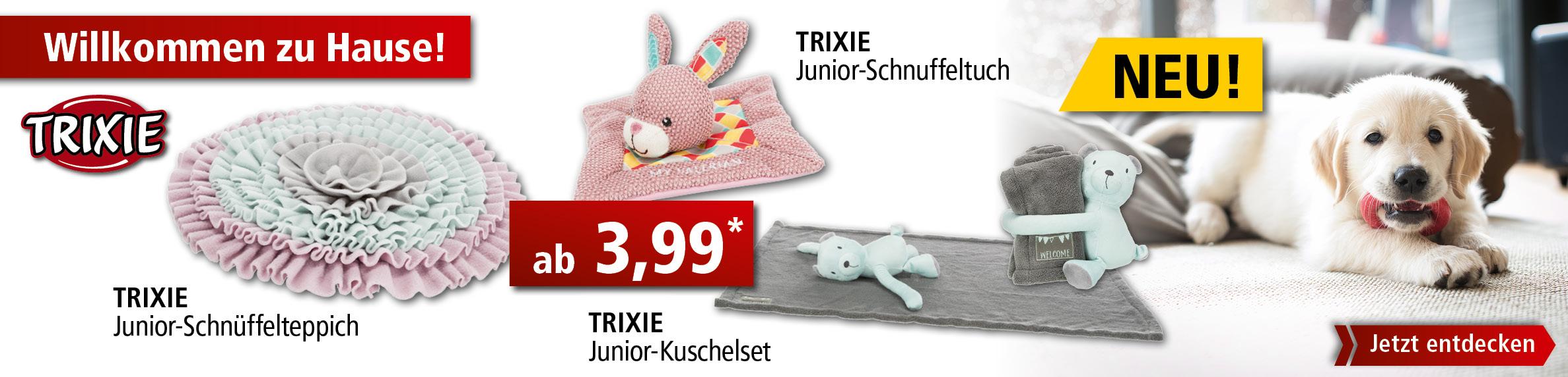 2_Startseite Trixie Junior Neuheiten