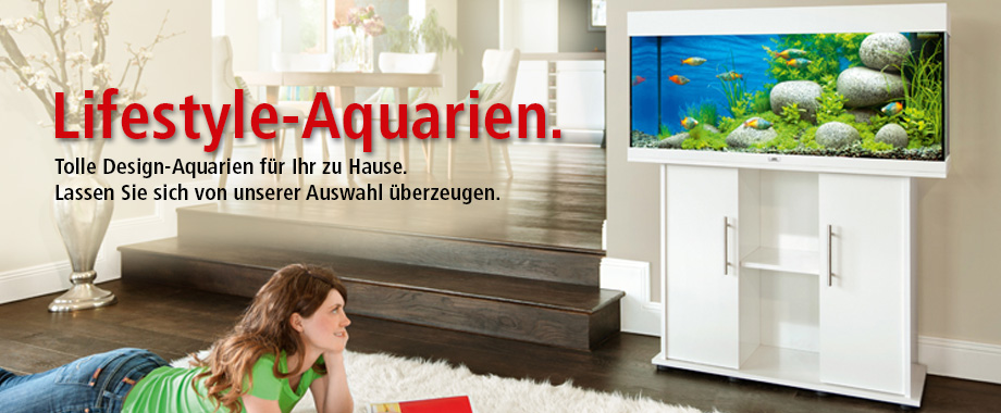Aquarien von ZOO und Co.