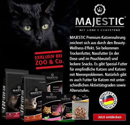 majestic katzenfutter online kaufen