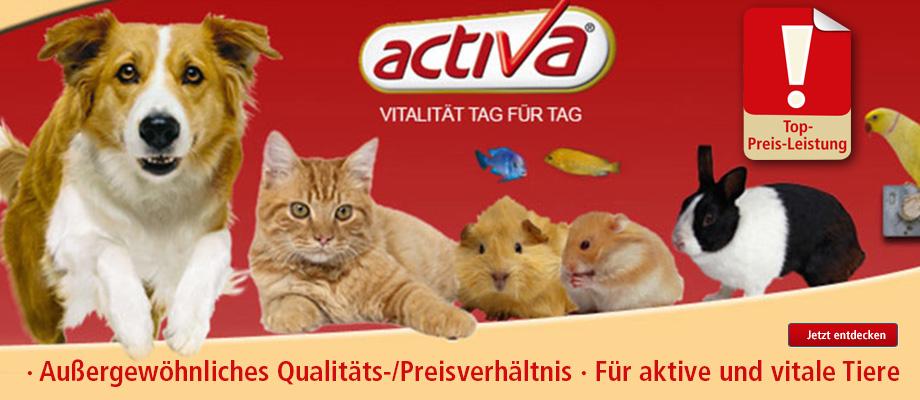 activa Futter für Hund, Katze, Nager beo ZOO und Co. kaufen