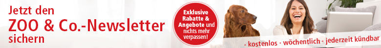 ZOO und Co. Onlineshop Newsletter