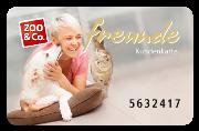 3% Rabatt mit ZOO & Co. Kundenprogramm freunde-Karte