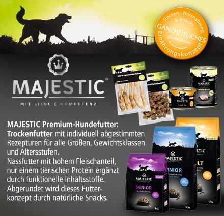 majestic glutenfreies hundefutter kaufen