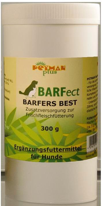 PETMAN Barfect Barfers Best Zusatzversorgung