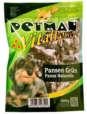 PETMAN Vital-Power Pansen Grün