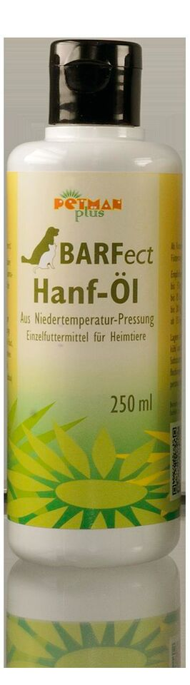 PETMAN BARF Zusatz Hanföl