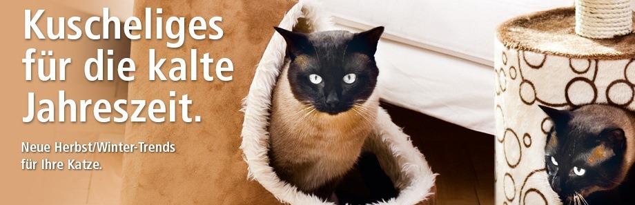 Herbst-Winter Kuscheliges für katzen