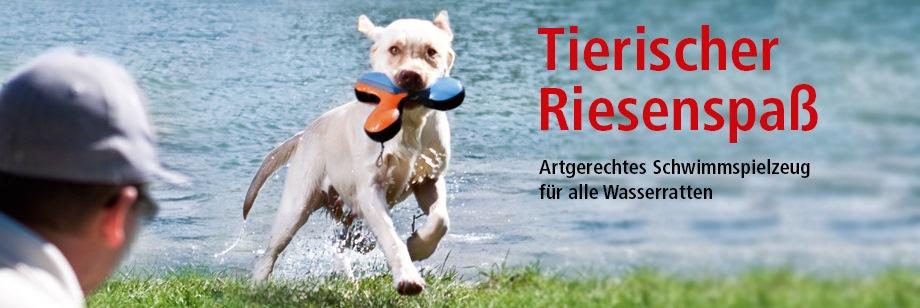 ZOO und Co. Wasserspielzeug für Hunde